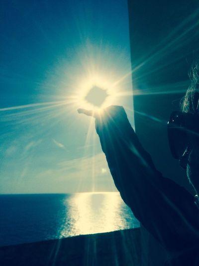 Capture The Moment Sun Sunshine ☀ Glitch Prospective Enjoying Life
