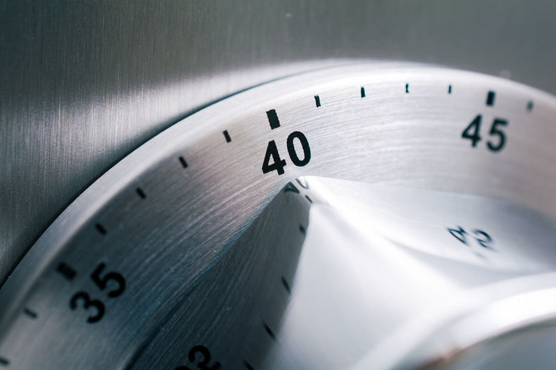 40 Countdown Fridge Reflection Alarm Aluminium Analog Chrome Clock Close-up Counting Forty  Important Kitchen Timer Kitchen Utensil Macro Metal Minutes Monochrome No People Number Refridgerator Steel Time Timer