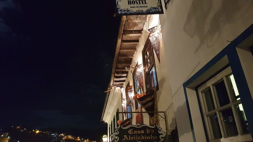 EyeEm Selects History Low Angle View Architecture Built Structure Night Travel Destinations No People Outdoors Sky Ouropreto Ouro Preto - Brasil Brazil Minas Minas Gerais Minasgerais Architecture Tourism City Adventures In The City Focus On The Story