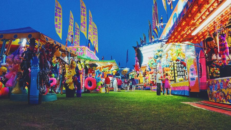 Colorful Sony A6000 Chicago Night Lights County Fair Colors 2016 Travels