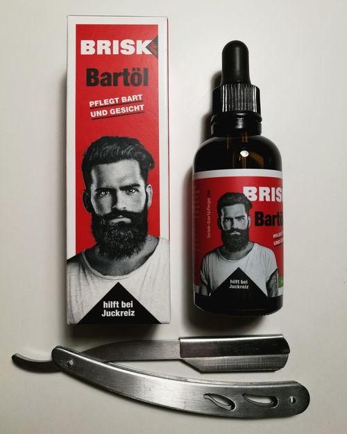 Brisk Bartöl Beard Barber