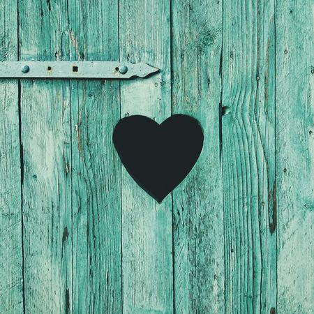A heart in the Door    Minimalism EyeEm Best Shots Heart