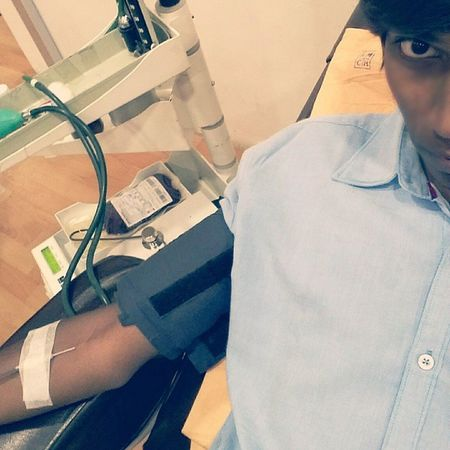 Selfie Kmch Hospital Coimbatore No MERCY FOUNDATIONBlood Donor Ab +Feeling Tiered Happy Donate Blood Save Life Peace🌸