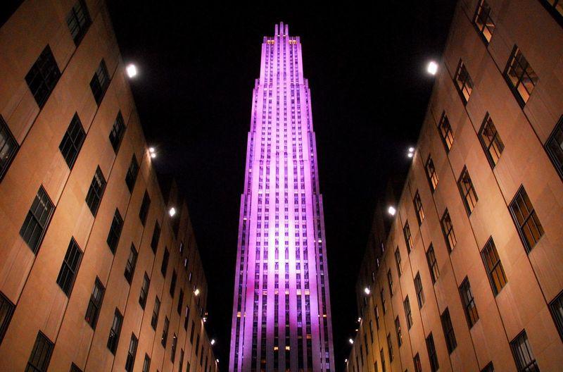 Rockefeller Plaza New York City