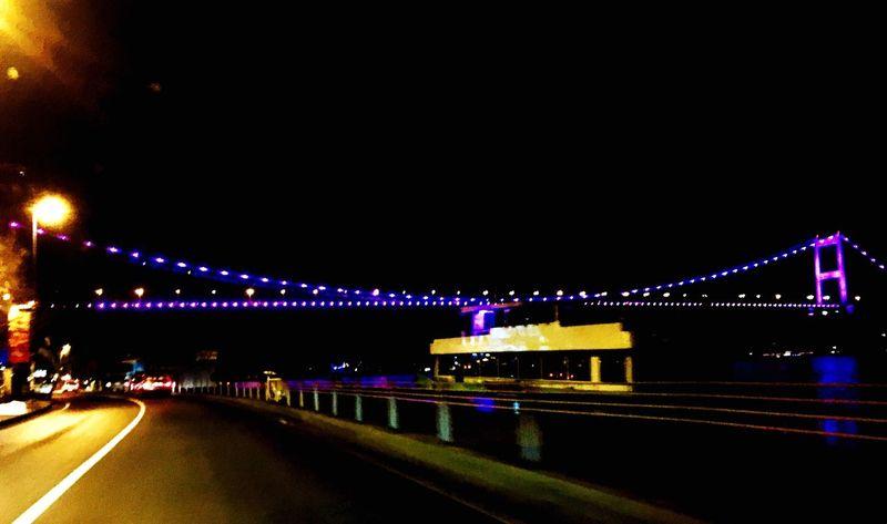Bridge Bridge View Bosphorus Istanbul Istanbul - Bosphorus City Lights Night Lights Night Photography Nightphotography Night View IPhoneography Mobilephotography Mobile Photography Showcase: January