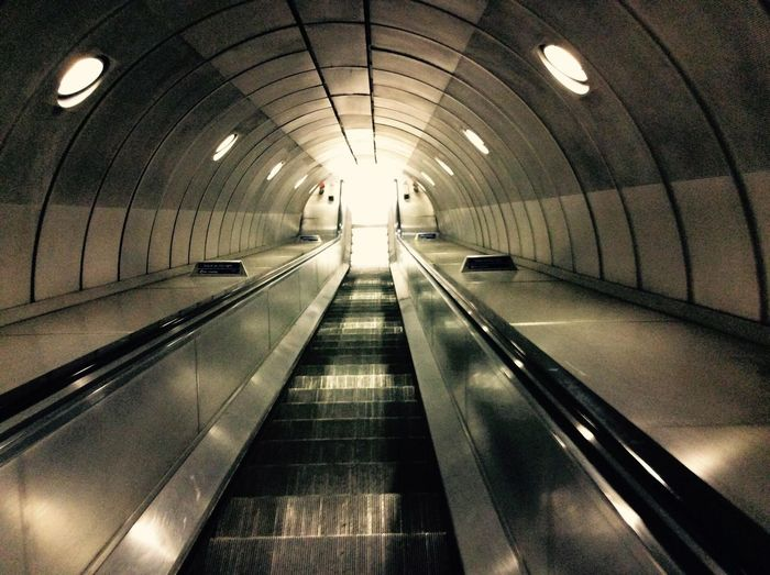 Transportation Building - Type Of Building Subway Escalator Subway Platform Subway Station London Underground Underpass Subway Train Underground