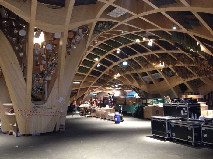 Ultimi preparativi Tadaa Comunity Expo 2015 From My Point Of View Workinprogress Architecture The Human Condition Perfect Padiglione Francia