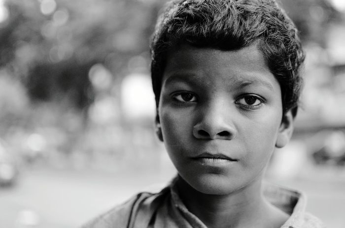 The ugly face of childhood..ineffectiveness of upliftment Childhood Portrait Portrait Photography Close-up 35mm Nikon D5100  Nikonphotography Black & White Black And White Photography Black And White Collection  Black And White Portrait Outdoors Earlymorning  Consciousness EyeEm Best Shots in Delhi India Indiapictures