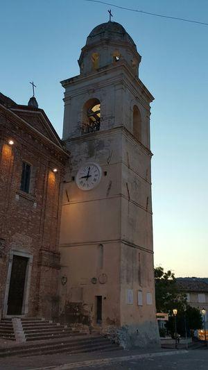 Sirolo Sirolo By Night Conero Marche Vacation2015