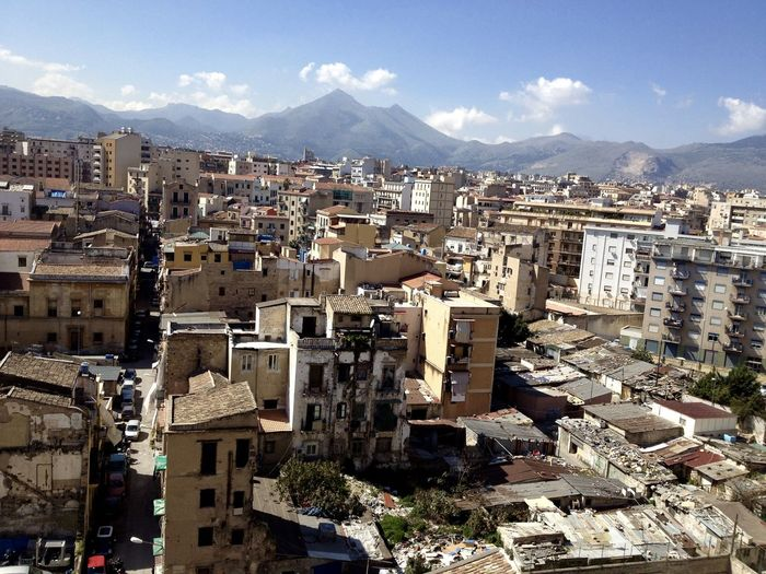 Favela Italia How Do We Build The World? Jungle Mountain View Palermo Shooting Palermo Skyline Politeama Polution Is All Around The World Sicily Southern Buildings