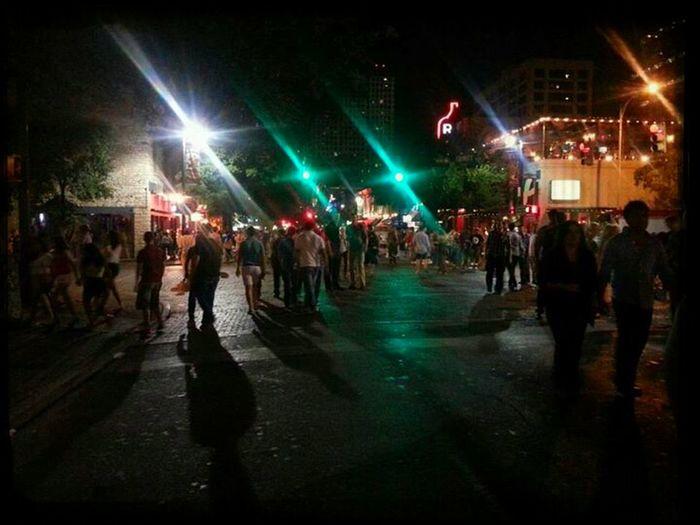 Night Life Austin, TX 6th Street