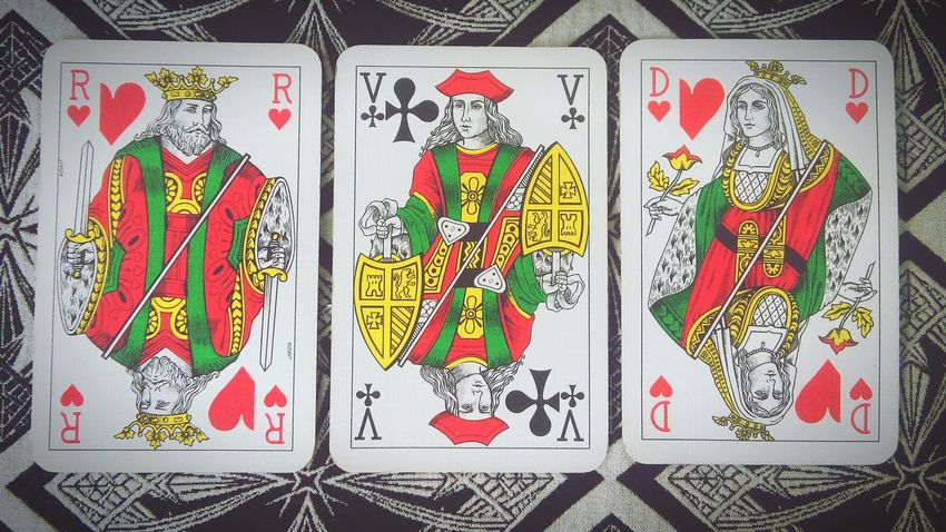Queen Queen Of Hearts The Story Behind The Picture King Of Hearts Card Games