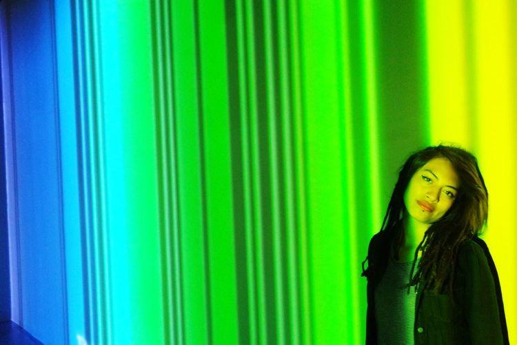 """Exposición """"años Luz"""" en el Centro Nacional de las Artes México. Colors EyeEm Colorful! Lightcolor DreadStyles  Dreadhead Dreads Dreadlocks♥ Rastas  Rastagirl Dreadgirl"""
