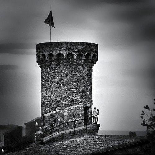 Tossa de Mar, Costa Brava Bw_collection Sky_collection Blackandwhite Eye4black&white