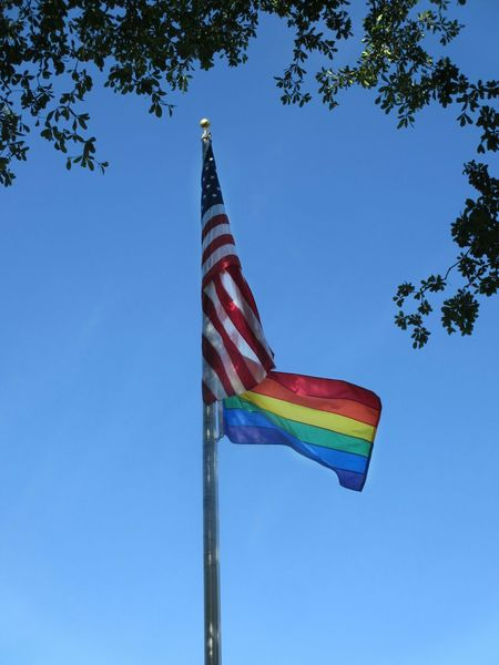 Flags Flag American Flag Social Issues Flags In The Wind  Low Angle View Gay Pride Rainbow Flag LGBT RainbowsEqual Rights  Equal Love .. Equal Right USA Rights Lgbt Pride Lgbtq Lgbt Lgbt Flag LGBTQ Rights Flags In The Wind  Equal Rights  Equality Flags In The Wind  Equal Rights  Low Angle View No People