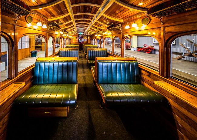 Illuminated Indoors  Lighting Equipment Mode Of Transport Public Transport Public Transportation Railing Railroad Station Transportation Travel Yellow