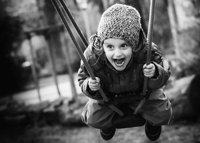 Fun Kids Of EyeEm Children Children's Portraits Family Kids Kids Being Kids Laughing Sway Child Childhood Childhood Memories Children Only Children Photography Emotion Enjoyment Fun Girl Happiness Kid Kidsphotography Leisure Activity Playground Playing Portrait Smiling Swing EyeEmNewHere The Portraitist - 2018 EyeEm Awards