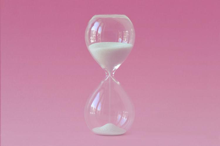 Hourglass on