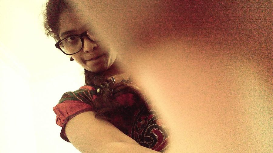 😎That's Me My New Look Taking Pictures Taking Photos Indoors  Solitude Selfie ♥ In Love With Taking Photos ❤ Taking Photo Thats Me ♥ New Glasses Coming Soon. New Glasses (: