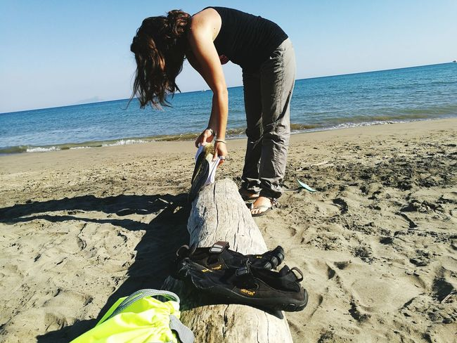 Torre Astura Fivefingers Beautiful Day Beatiful Woman I Love Ivana Beach