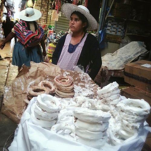 Sweet treats at the Market in Cochabamba Latergram