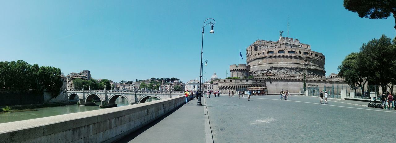 Roma Caput Mundi Roma Rome Travel Destinations Architecture History Tourism Travel Outdoors Building Exterior City City Life EyeEm Selects My Own Photography Castel Sant'Angelo Moving Around Rome