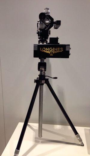 Fotofinish Camera Longines Vintage Camera
