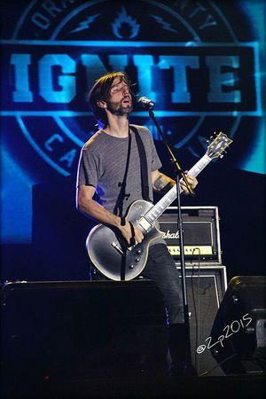 Ignite Guitarist Musicphotographer RockPhotography Concert Photography Hammersonic2015 Hammersonicfest2015