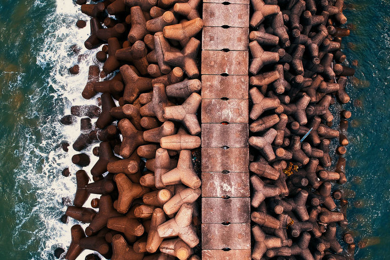 Large Group Of Objects No People High Angle View Still Life Abundance Food Rusty Food And Drink Metal Brown Close-up Day Indoors  Chain Freshness Pattern Directly Above Full Frame Indulgence Temptation Snack