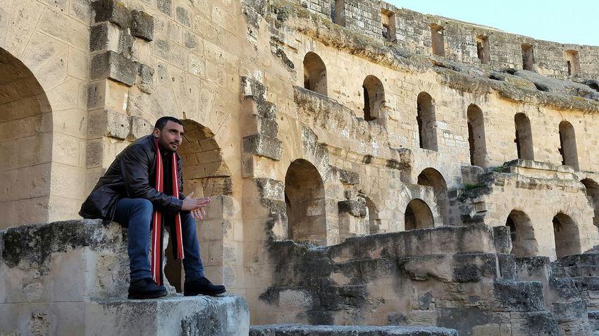 Historical Building Rome Tunisia Spartacus Gladiators Peopleofeyeem Hello World Walking Around