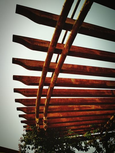 Framework roof No People Low Angle View Outdoors Day Sky Close-up
