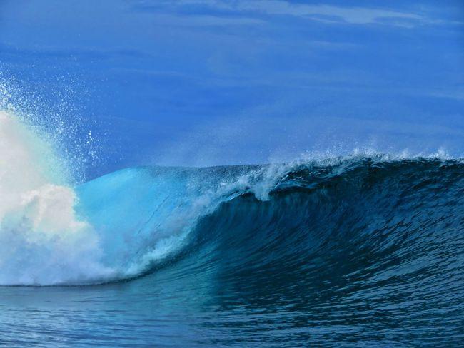 French Polynesia South Pacific Surf Wave Ocean Pacific Ocean Reef Reef Break Surfing Tahiti Teahupoo Water Summer Exploratorium