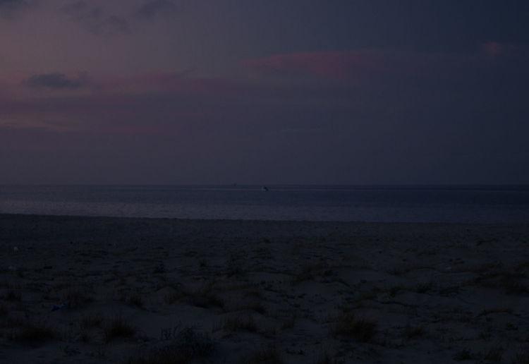 Sky Scenics - Nature Sea Horizon Horizon Over Water Beauty In Nature Land Tranquility Water Beach Tranquil Scene Nature Cloud - Sky Sunset No People Idyllic Sand Night Non-urban Scene Outdoors