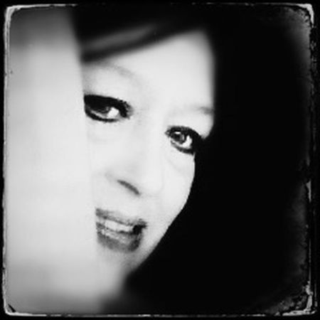 """""""Peek-a-Boo"""" Blackandwhite AMPt_community Tintype Monochrome NEM Black&white Bw_collection Shootermag Black And White Grryo Portrait a photo taken by a friend and edited by me."""