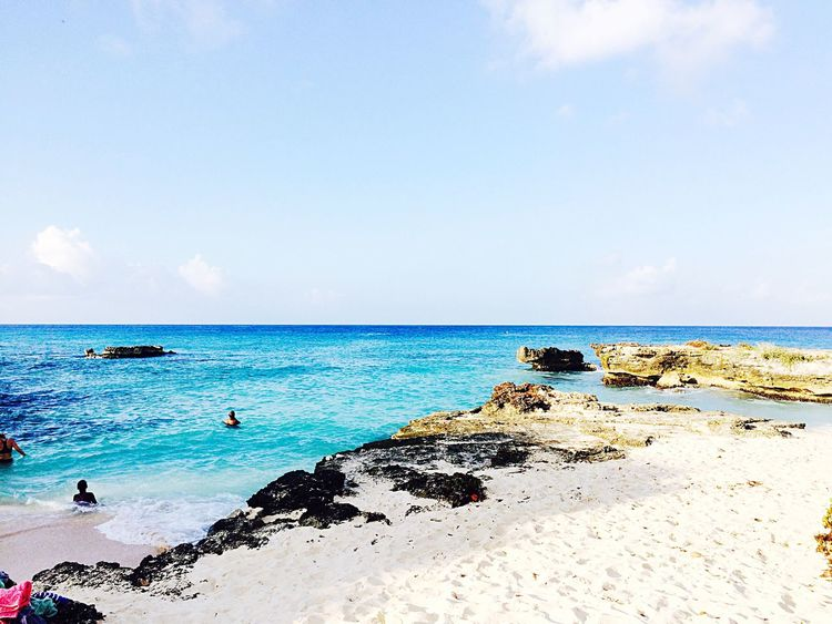 A beautiful private cove on the Cayman Islands First Eyeem Photo