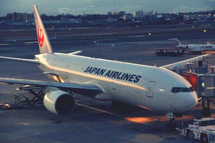 Itami Japanairlines Boeing777 Air Plane