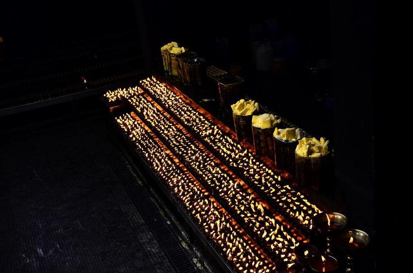 Butterlamps Lhasa Buddha Tibet Light Lamp Peace
