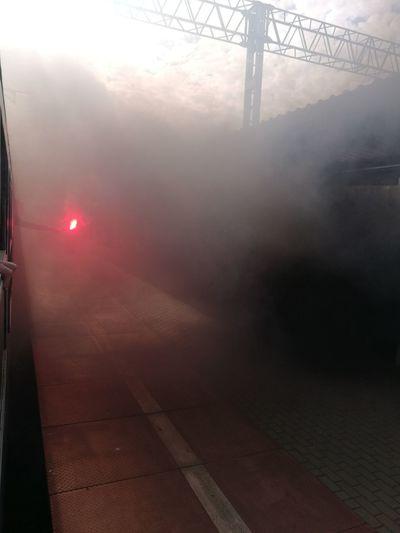 Pirotechnika Firefighter Smog Red Sky