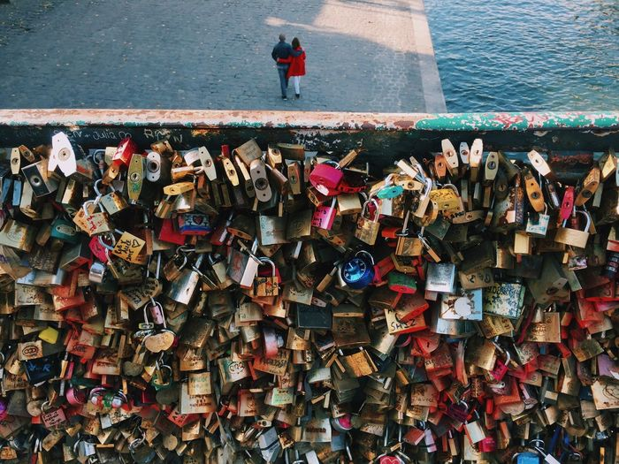 Paris Love City Locks Couple Sweet Seine Romantic The Week On EyeEm Vscogood