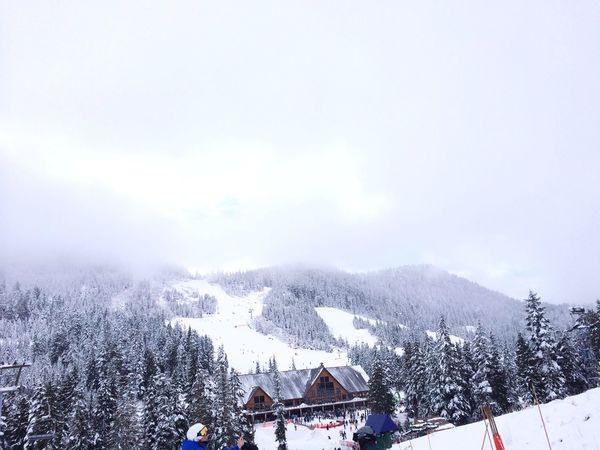 摔得还ok哈哈哈 Skiing snowboard