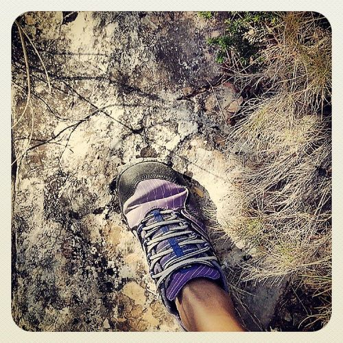 Barefoot Trail on a hot Sunday morning up the SierraGelada costablanca