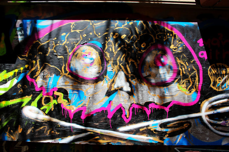 Athens Athens, Greece Black Close-up Colorful Day Graffiti Greece Multi Colored No People Skull Skulls Street Art Street Art/Graffiti Streetart Streetphotography Urban Urbanphotography