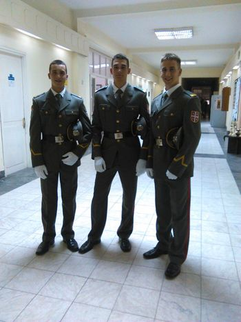 Officers Roommates Armed Forces Of Serbia Kadets Uniform