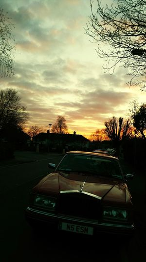 Beautiful day. Rollroyce Amazing Sunset
