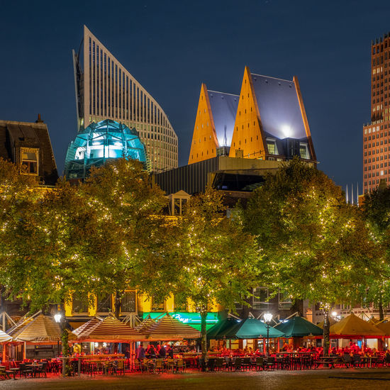 Architecture Arts Culture And Entertainment Building Building Exterior Built Structure City City Life Dusk Illuminated Light Lighting Equipment Nature Night No People Outdoors Plant Sky Tourism Travel Travel Destinations Tree Water