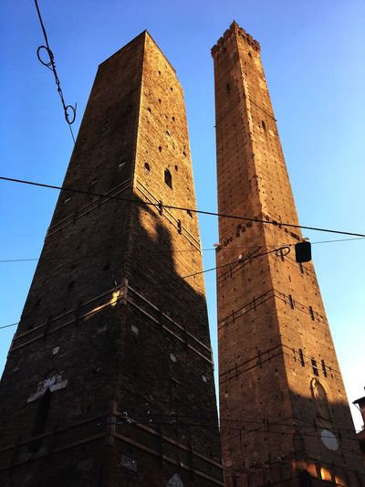 Two Towers Two Towers Architecture Low Angle View History Tower Built Structure Building Exterior No People
