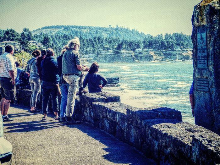A people place.... Depoe Bay Oregon Nikon_photography Mix Filter My Photo Album ♡ My Artwork 🌹