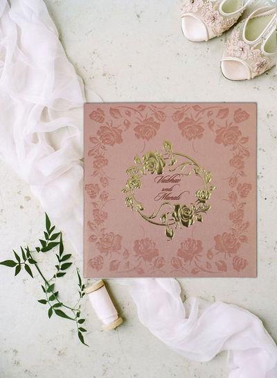 Designer Wedding Cards Floral Wedding Invitations Themed Wedding Invitations Wedding Invitations Online Wedding Invitation Cards Foil Stamped Invitations