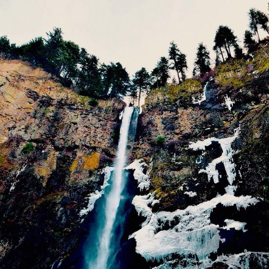Waterfalls Oregon Columbia River Gorge Westisbest Pacific Northwest  Showcase: January Photography In Motion Landscapes With WhiteWall