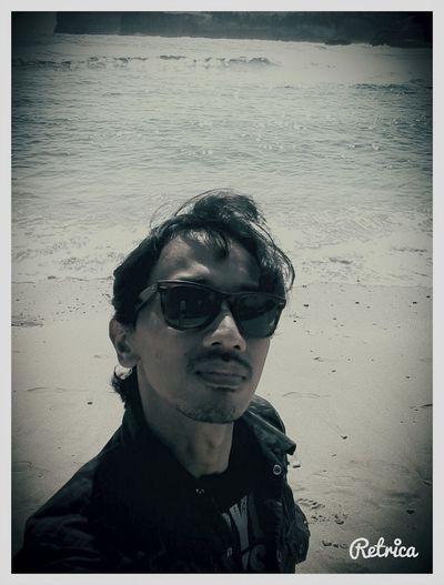 Selfiie di pantai